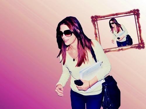 Ashley Greene wallpaper with sunglasses called Ashley**