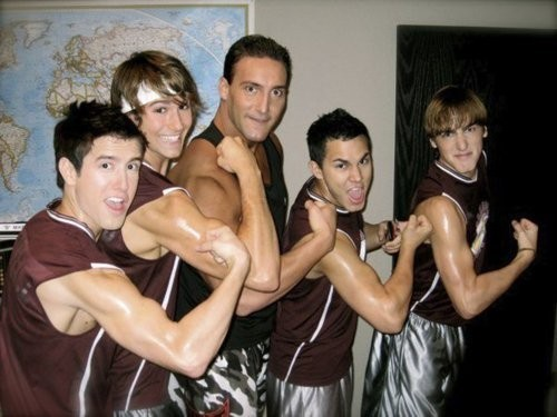 BIG TIME RUSH MUSCLES