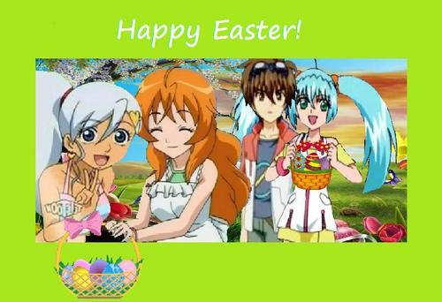 Bakugan - Happy Easter!