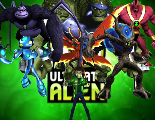 Ben 10 - Supremacia Alienígena wallpaper possibly containing animê called Ben 10 Ultimate Alien RBT