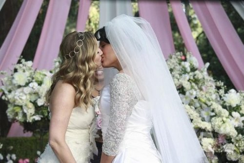 Calzona Wedding 7x20 - callie-and-arizona Photo