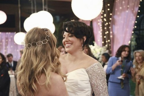 Calzona Wedding 7x20