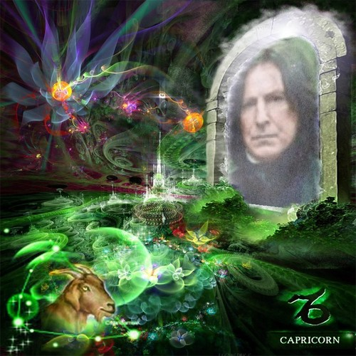 Severus Snape wallpaper titled Capricorn Sev