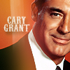 Cary Grant photo with a business suit and a portrait called Cary Grant