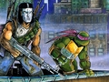 Casey & Donatello - ninja-turtles wallpaper