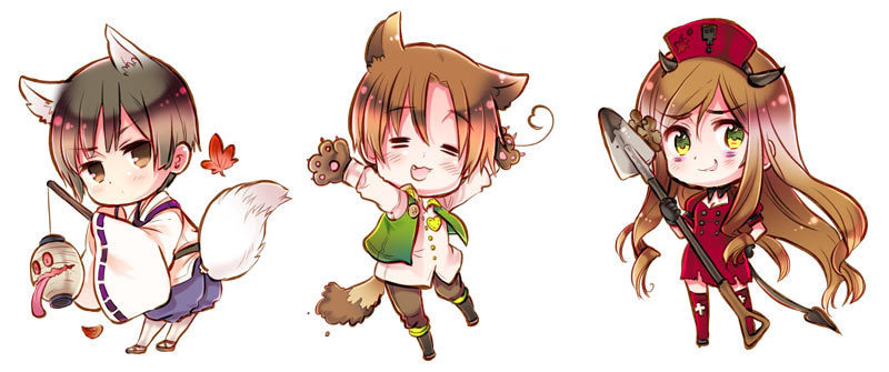 Chibi Hetalia Images Chibi Wallpaper And Background