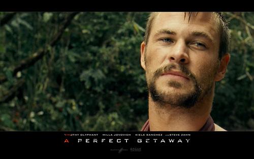 Chris in A Perfect Getaway