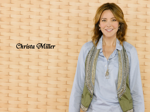 Christa Miller wallpaper possibly with a well dressed person entitled Christa