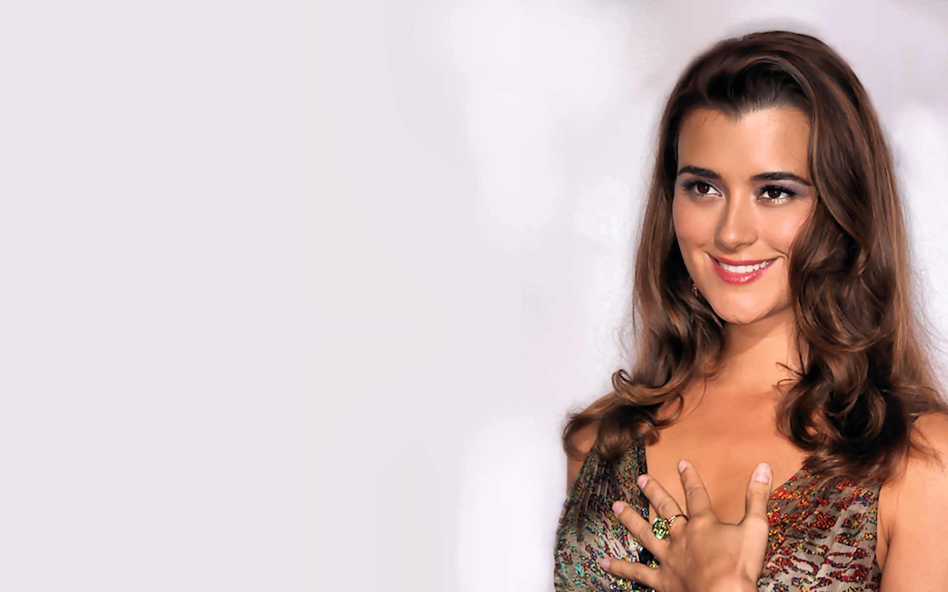 Ncis Cote De Pablo Ziva David Wallpaper