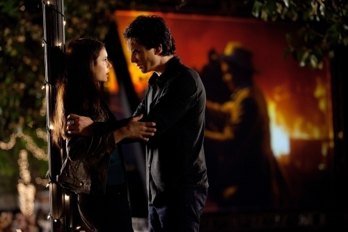 Damon & Elena wallpaper titled Damon/Elena 2x22 ღ