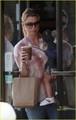 Ellen Pompeo: Coffee Bean with Stella! - ellen-pompeo photo