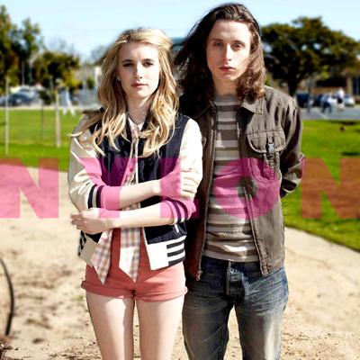 Emma Roberts & Rory Culkin in Nylon May 2011
