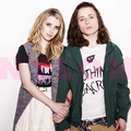 Emma Roberts &amp; Rory Culkin in Nylon May 2011