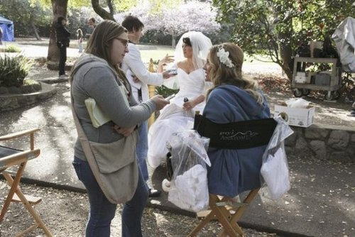 Episode 7.20 - White Wedding - BTS foto's