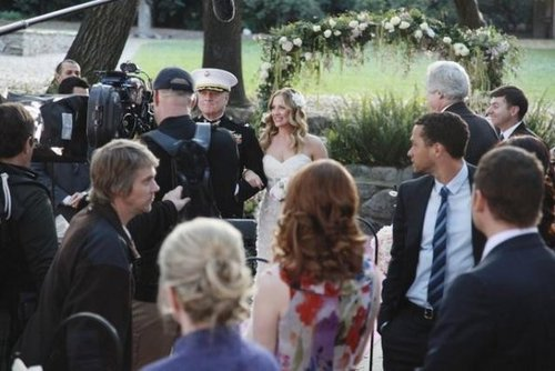 Episode 7.20 - White Wedding - BTS picha