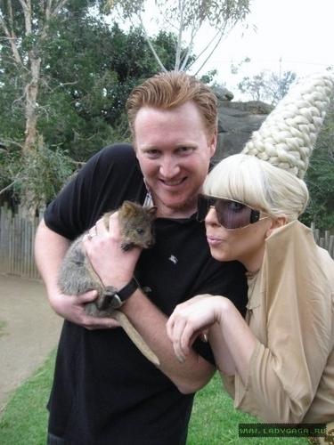 Gaga in the zoo