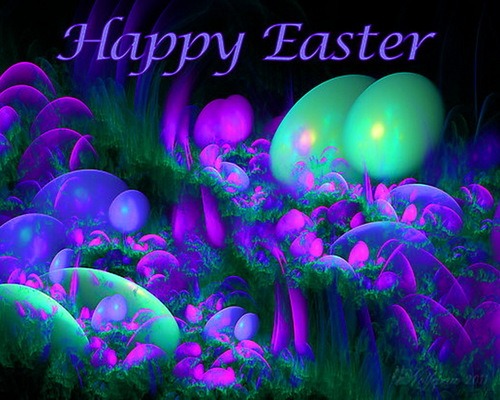 bright colors images happy easter hd wallpaper and