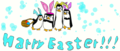 Happy Easter from PoM! :D - penguins-of-madagascar fan art