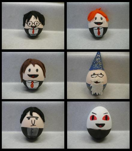 Harry Potter and Twilight Easter Eggs