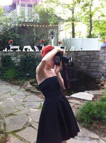 Hayley At Her Dad's Wedding