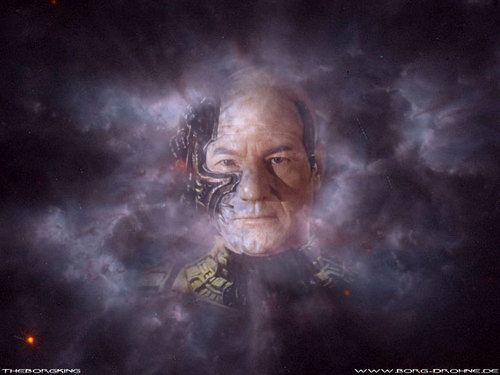 Jean Luc Picard as Locutus - star-trek Wallpaper