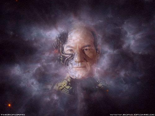 Jean Luc Picard as Locutus