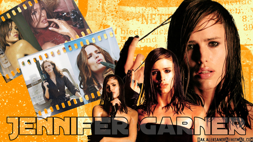 jennifer garner wallpaper with anime titled Jennifer Garner