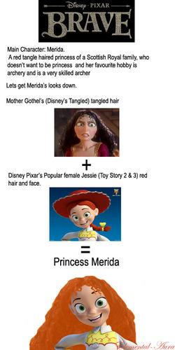Jessie is Merida