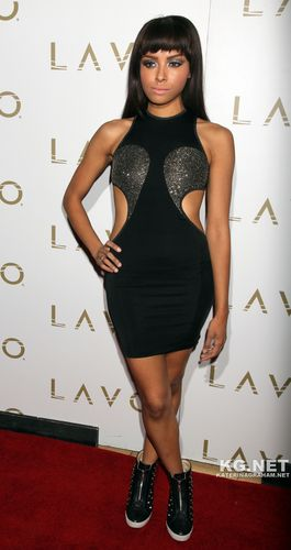 Kat Graham hosts at LAVO Nightclub at The Palazzo Resort and Casino