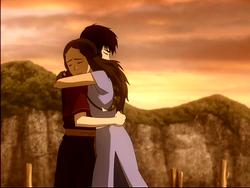 Katara/Zuko=hug