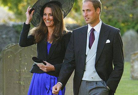 Kate Middleton wallpaper containing a business suit and a suit called Kate with Prince William