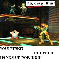 Kirby was caught!!!