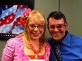 Kirsten & Nicholas Brendon - kirsten-vangsness photo