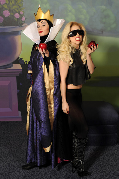 LADY GAGA visits disney world - lady-gaga photo