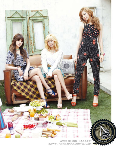 Lizzy, Nana & Raina - Virgin Concept picture