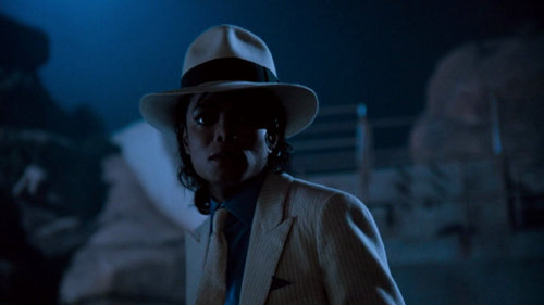 Smooth Criminal kertas dinding probably containing a fedora and a boater titled MJJ