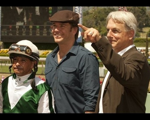 MW and MH at Grade III San Simeon Handicap horse race Sat April 16th 2011