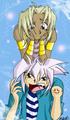 Marik annoying Yami Bakura