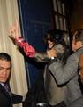 Michael at London Theatre - michael-jackson photo