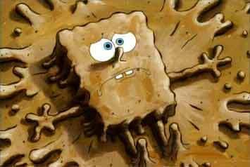Muddy SpongeBob