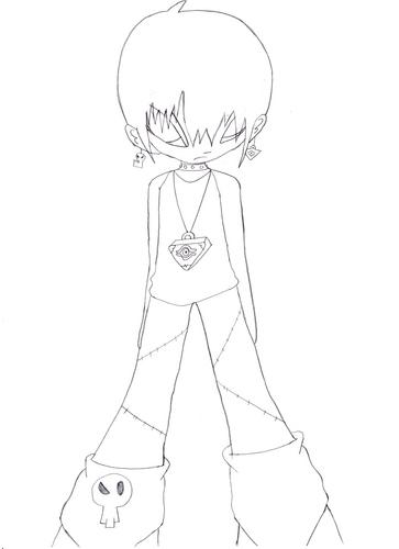 My Bleedman/Yu-Gi-Oh character