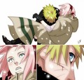 Naruto and Saura