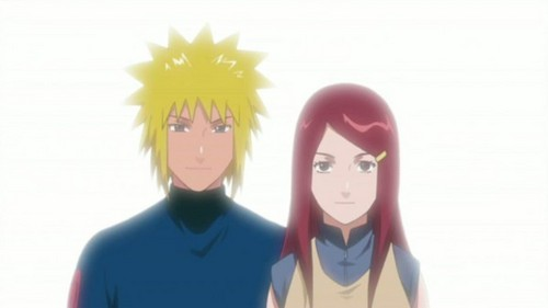 Naruto's parents
