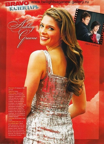 New scan of Ashley Greene in Bravo