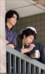 Nick Jonas Candid!