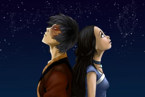 Night étoile, star