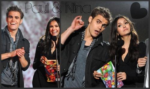 Nina and Paul Desktop karatasi za kupamba ukuta