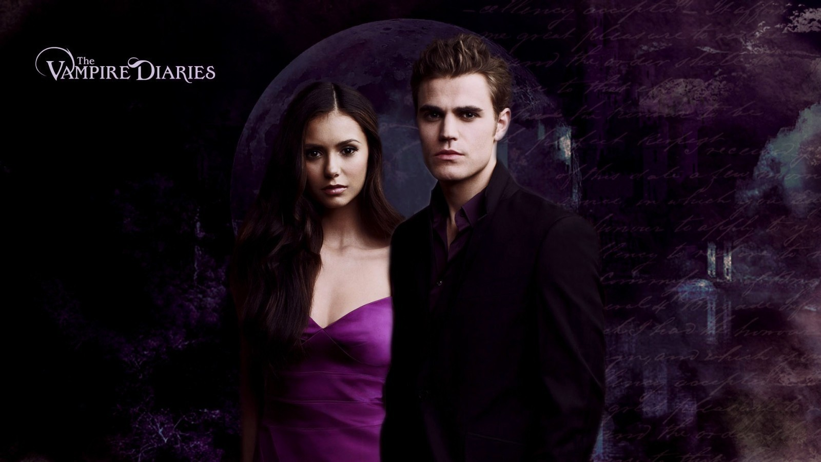 Nina Dobrev and Paul Wesley images Nina and Paul Desktop ...
