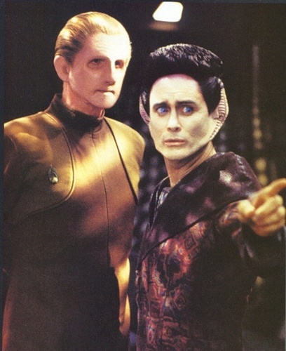 Odo and Weyoun
