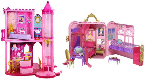 PCS' toys: Blair's room, I guess